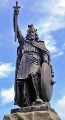 From Wikipedia.  Statue of Alfred the Great