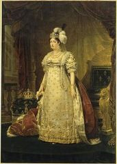 From Wikipedia, painting of Marie Thérèse