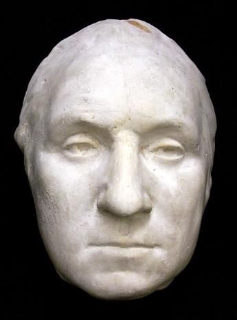 George Washington's death mask.