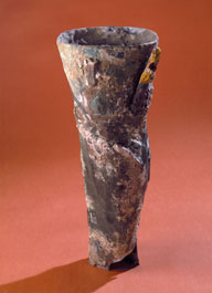 Copy of Roman artificial leg, c.1910. The original was made of bronze and had been excavated from a grave in Capua, Italy. Image Credit: Science Museum, London