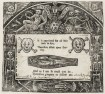 """Memento Mori Remember to Die,"" 1640, Woodcut.  Image Credit: Folger Shakespeare Library, Washington DC."