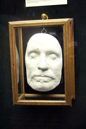 Cromwell's death mask.  Image credit: Wikipedia