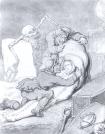 Thomas Rowlandson: Resurrection Men, 18th century.  Image via Wikipedia.