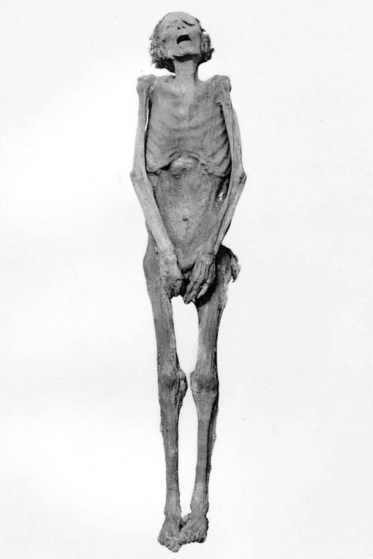 The body of the Screaming Mummy confirmed to be Pentawer.  Image credit: Khruner on Wikipedia.