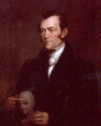 Johann Gaspar Spurzheim. Image credit: Wikipedia.