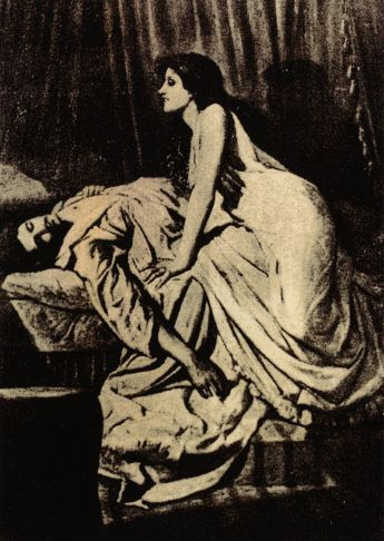 The Vampire by Sir Philip Burne-Jones, ca. 1897.  Image credit: Wikipedia