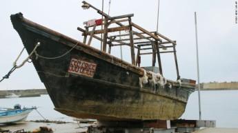 ghost ship japan