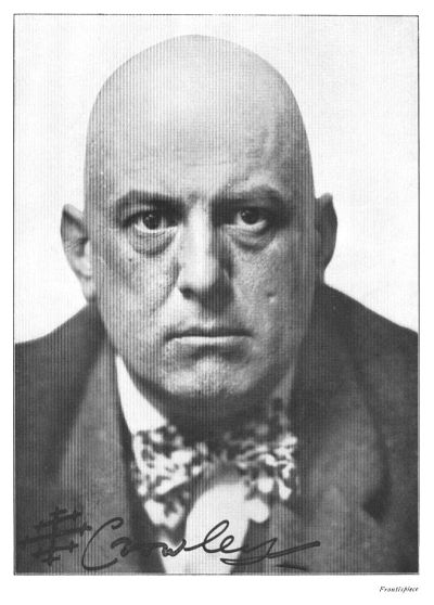 "The ""wickedest man in the world"" Aleister Crowley. Image from Wikipedia."