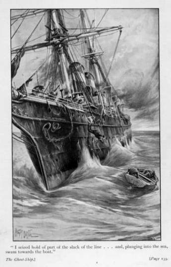 Illustration from a novel The Ghost Ship by John Conroy Hutcheson.  Image credit: Wikipedia
