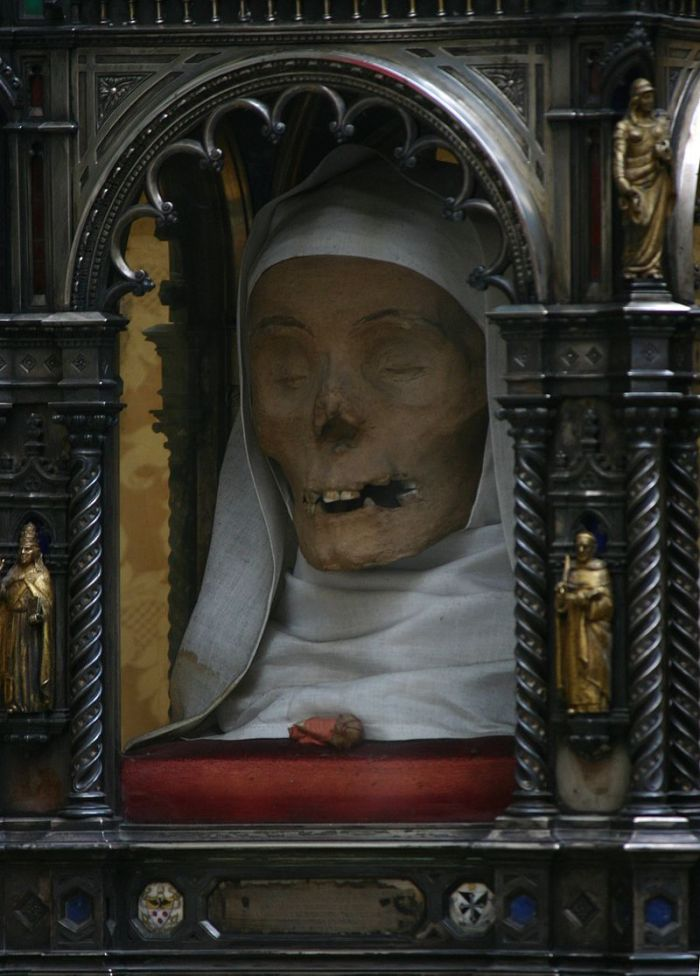 Saint Catherine Of Sienas Divine Head Strange Remains
